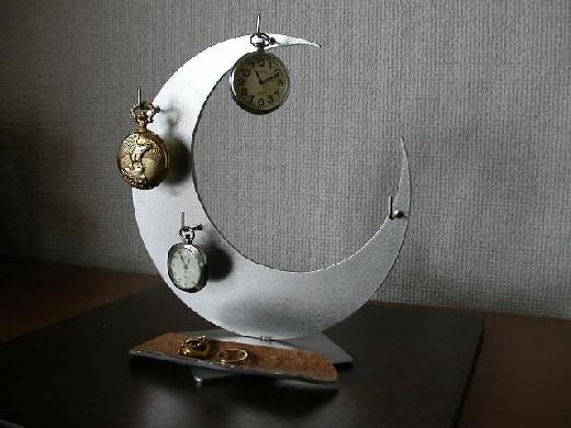 懐中時計ケース 三日月懐中時計スタンド