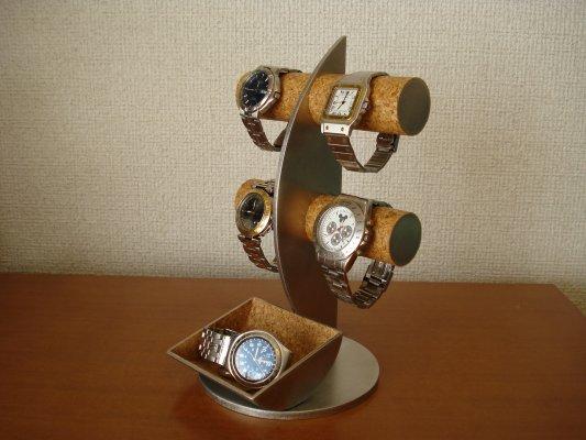時計 収納  ムーン腕時計ディスプレイスタンド ロングトレイバージョン