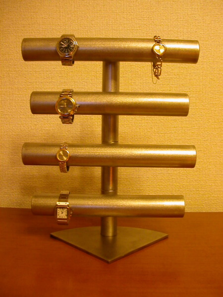 誕生日プレゼントに 腕時計収納 20本以上掛け手動回転式滑り止め透明シート腕時計スタンド