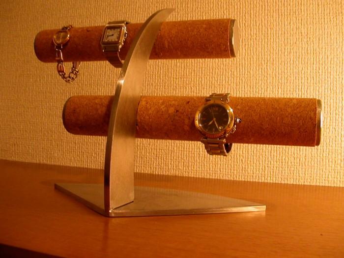 誕生日にプレゼントに 腕時計収納保管 6本掛けデザイン腕時計スタンド