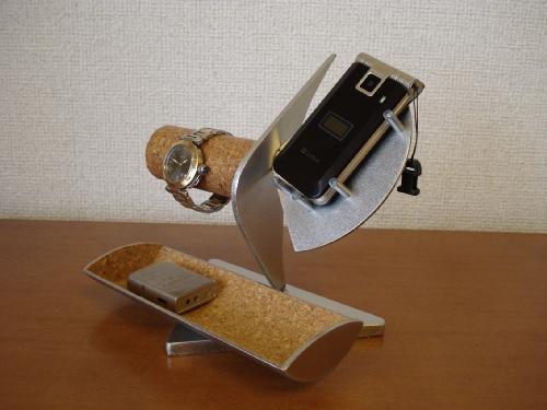 誕生日プレゼントに 腕時計ケース 腕時計、携帯電話、小物入れスタンド