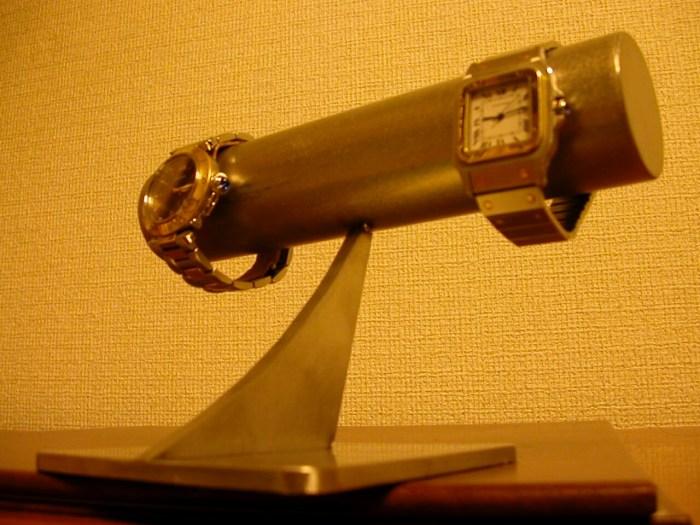 シンプル透明シート腕時計スタンド
