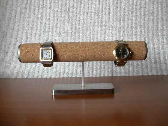 時計スタンド 腕時計 スタンド 誕生日プレゼント 新婚祝い 時計 スタンド ウォッチスタンド クリスマス ハロウイン 腕時計ラック 腕時計収納 腕時計飾る 腕時計を飾る アクセサリースタンド コルクパイプどっしり腕時計スタンド