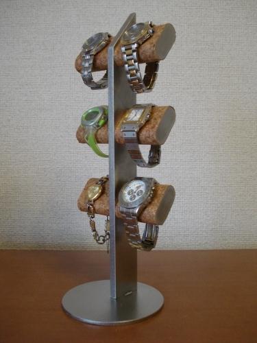 誕生日プレゼントに 腕時計スタンド だ円6本掛けスタンダード★AK2