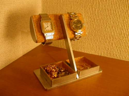 時計スタンド 半円ダブルデカイトレイ