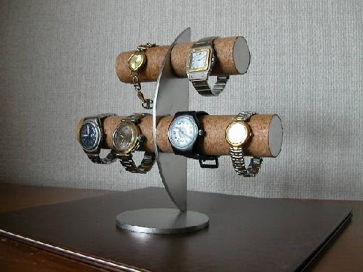 誕生日プレゼントに 腕時計スタンド 6本掛け三日月スタンダードスタンド★AK57