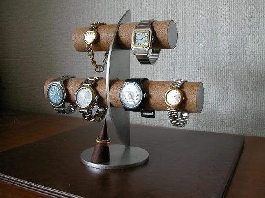 腕時計スタンド ウォッチスタンド 結婚祝い 退職祝い 誕生日プレゼント クリスマス 腕時計ラック 腕時計収納 バレンタインデー 彼氏へプレゼント 腕時計飾る 時計を飾る 腕時計を飾る ウオッチケース 新婚祝い 記念品 6本掛け腕時計スタンドリングスタンド