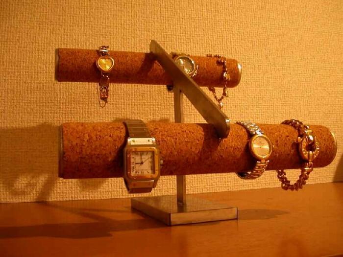 プレゼントに 腕時計スタンド 8本掛けスロープ腕時計スタンド★AK88