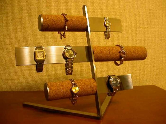 誕生日プレゼントに 腕時計スタンド バー&コルク腕時計スタンド パート2★AK54