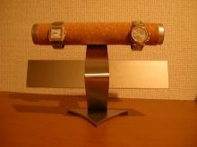 腕時計スタンド 2段コルクパイプ&バー腕時計スタンド★AK33