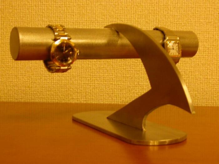 プレゼントに 腕時計スタンド デザインインテリア4本掛け腕時計ディスプレイスタンド透明シートバージョン★AK45