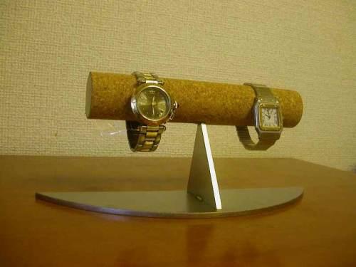 時計スタンド 三日月台4本掛け腕時計スタンドAK453