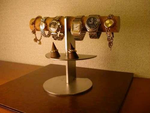 誕生日プレゼントに 腕時計スタンド 腕時計、指輪、アクセサリースタンドAK101 アクセサリー収納