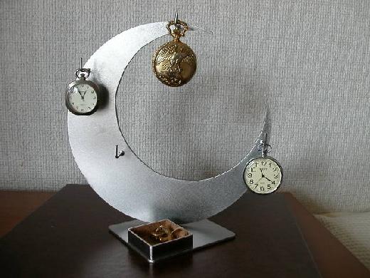 懐中時計 ボックス 三日月懐中時計スタンド角トレイ CK17