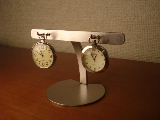 プレゼントに ダブル懐中時計スタンド スタンダード CK31