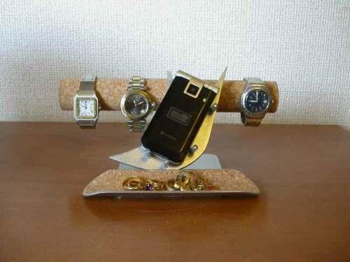 腕時計スタンド 腕時計&携帯電話、小物入れスタンド AK6621