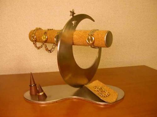 誕生日プレゼントに 時計スタンド 気まぐれスターアクセサリースタンド DK6