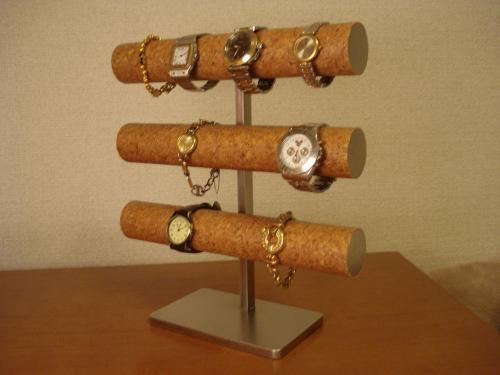 誕生日プレゼントに 時計スタンド 12本掛け腕時計収納スタンド スタンダード
