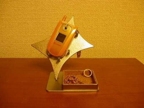 スマホ スタンド デザイン携帯電話スタンド トレイ付き KT2
