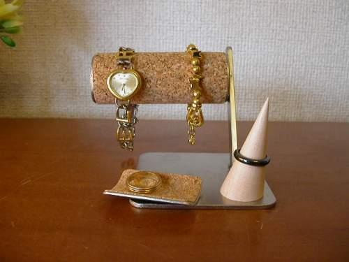 誕生日プレゼントに アクセサリースタンド 腕時計&アクセサリー収納、保管スタンド AK664