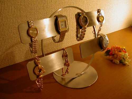 父の日に ま~るい腕時計スタンド AK7654