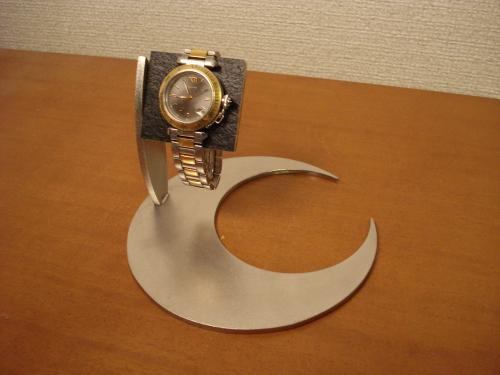 腕時計スタンド 三日月ブラックコルク腕時計スタンド AK55
