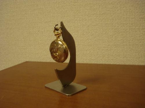 懐中時計スタンド 変り種懐中時計収納インテリアスタンド