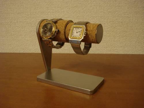 父の日 時計スタンド 男性用、女性用パイプ連結腕時計スタンド スタンダード WS755