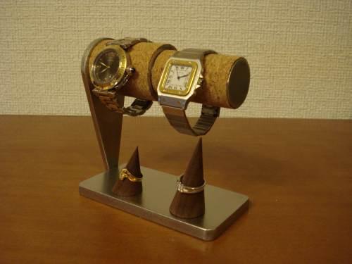父の日 腕時計スタンド カップル腕時計スタンド ダブルリングスタンド WS844