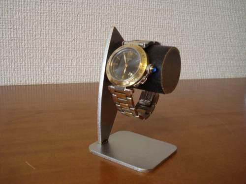 父の日に 腕時計スタンド 1本掛けブラックコルク腕時計スタンド