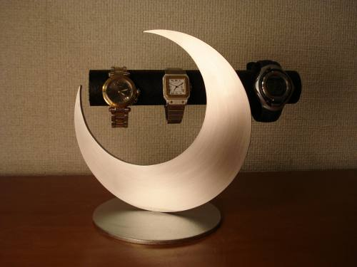 アクセサリースタンド 送料無料皆既月食ブラック腕時計スタンド KWSD23