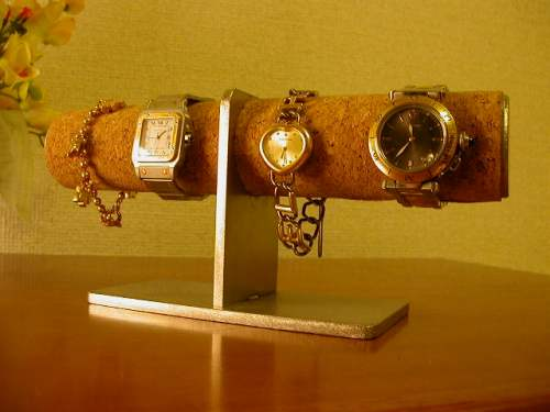 父の日プレゼント 時計スタンド 送料無料どっしり落ち着いた腕時計スタンド DOW66