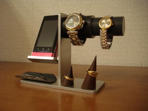 誕生日プレゼントに アクセサリースタンド スマホ、男性、女性用腕時計、リング、その他アクセサリー収納スタンド AKT453