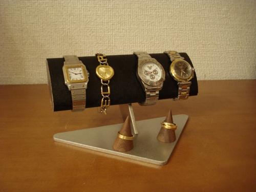 ウォッチ 収納 幅広だ円腕周り太い用方時計スタンド 指輪スタンド付き