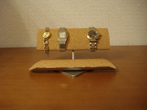 父の日に 腕時計スタンド 腕周り太い方用ウォッチ収納スタンド ロングトレイ ART908