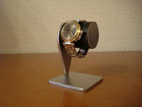 お父さんの日 時計収納 ブラック1本掛け腕時計スタンド ART34