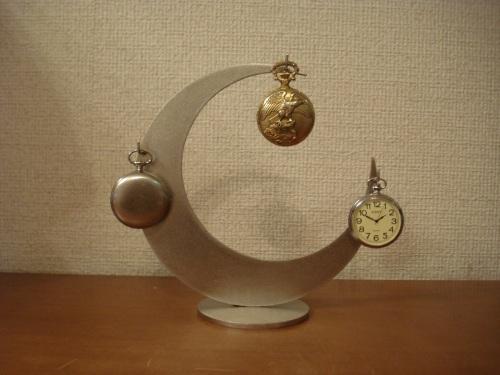 懐中時計スタンド 三日月3本掛け懐中時計収納スタンド RAT106
