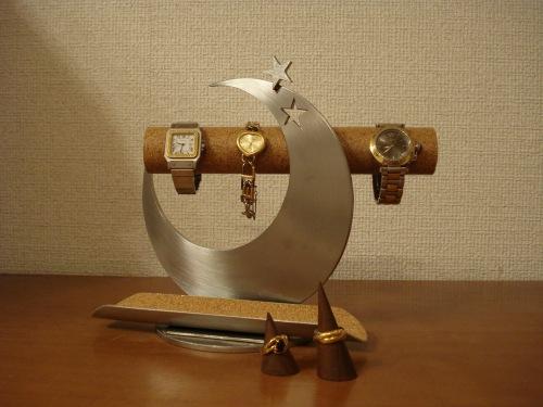 ウォッチスタンド 飛び出す腕時計スタンド トレイ&指輪スタンド未固定バージョン RAK4299