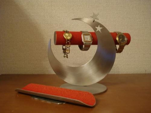 時計スタンド レッド飛び出す腕時計スタンド ロングトレイ未固定バージョン RAK9399