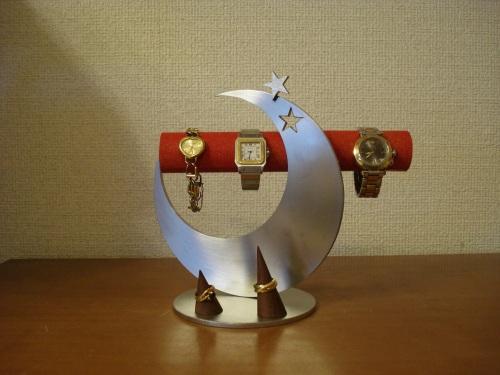 父の日に 腕時計スタンド レッド飛び出す腕時計スタンド 指輪スタンド未固定バージョン RAK558