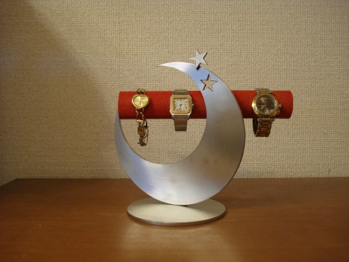 RAK5754 腕時計スタンド レッド飛び出す 腕時計スタンド スタンダード