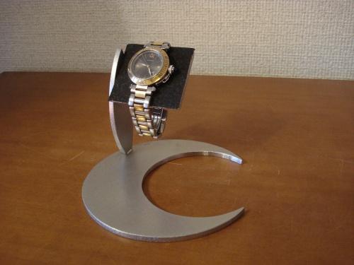 誕生日プレゼント 腕時計スタンド ブラックムーンデザインコルクバー腕時計スタンド RAK4129