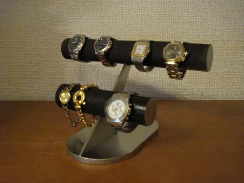 腕時計スタンド 結婚祝い 退職祝い 誕生日プレゼント クリスマス 腕時計ラック 腕時計収納 バレンタインデー 彼氏へプレゼント 腕時計飾る 時計を飾る 腕時計を飾る ウオッチケース 新婚祝い 記念品 ブラックブラックウォッチスタンド