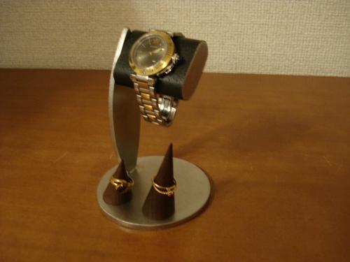 ウォッチ ちょっと背が高いシングルブラックコルク腕時計スタンド 未固定木製リングスタンドバージョン RAK627