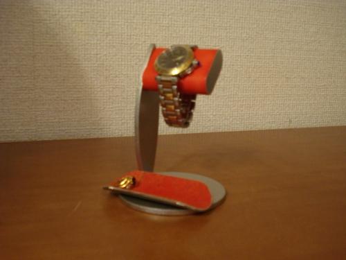 誕生日プレゼントに 時計スタンド ちょっと背が高いシングルレッドコルク腕時計スタンド ロングトレイバージョン RAK723
