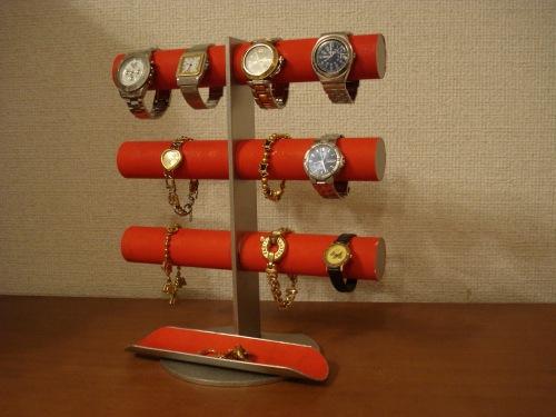 1着でも送料無料 時計 時計 スタンド スタンド レッド12本掛けロングトレイ腕時計スタンド RAK419 RAK419, MODE KAORU:9da42c69 --- business.personalco5.dominiotemporario.com