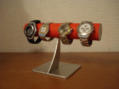 腕時計 スタンド レッド4本掛けシンプル腕時計スタンド スタンダード RAK5538