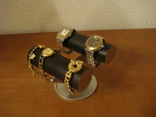 ウオッチスタンド ブラック腕時計ケース型腕時計スタンド RAK814