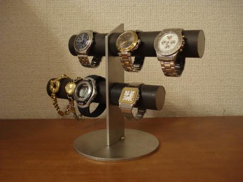 腕時計スタンド ブラック6本掛け腕時計スタンド スタンダード