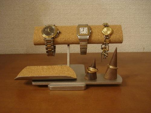 腕時計 スタンド 3本掛け腕時計、アクセサリーディスプレイスタンド TUモデル